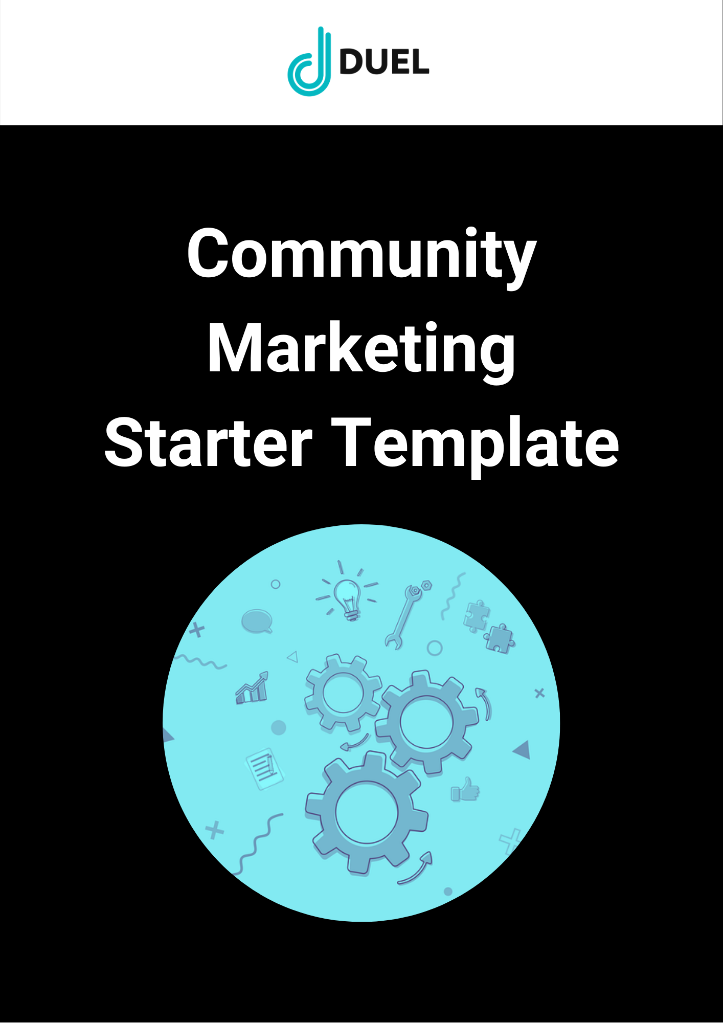 Community Marketing Template Cover